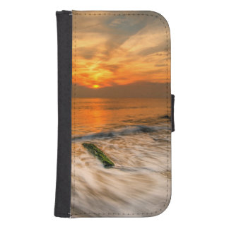 USA, New Jersey, Cape May. Scenic On Cape May 4 Samsung S4 Wallet Case