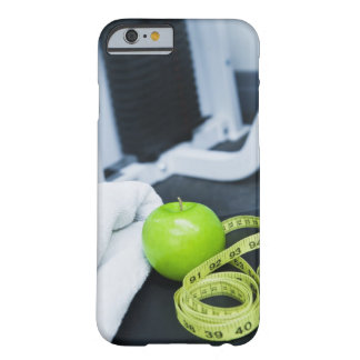 USA, New Jersey,  City, Close up of green Barely There iPhone 6 Case