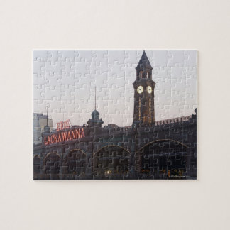 USA, New Jersey, Hoboken, old train station Jigsaw Puzzle