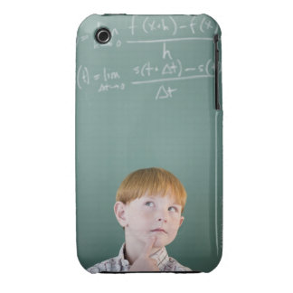 USA, New Jersey, Jersey City, Boy (8-9) iPhone 3 Cases