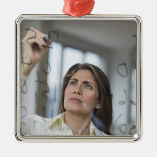 USA, New Jersey, Jersey City, Businesswoman Christmas Ornament