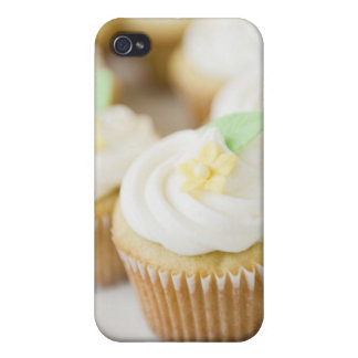 USA, New Jersey, Jersey City, Close up cupcakes iPhone 4 Case