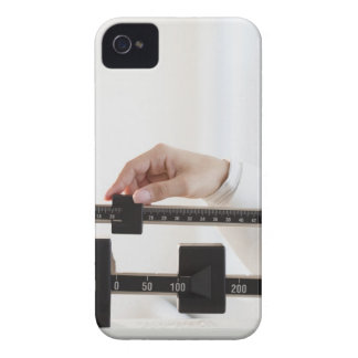 USA, New Jersey, Jersey City, Close up of female iPhone 4 Covers