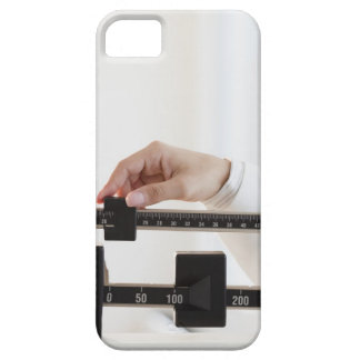 USA, New Jersey, Jersey City, Close up of female iPhone 5 Cover