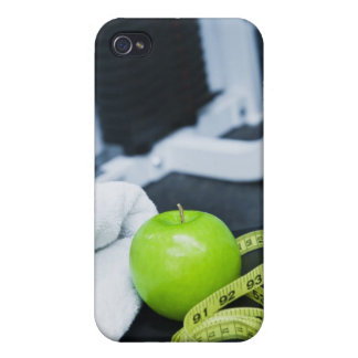 USA, New Jersey, Jersey City, Close up of green Cover For iPhone 4