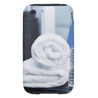 USA, New Jersey, Jersey City, Close up of towel Tough iPhone 3 Cases