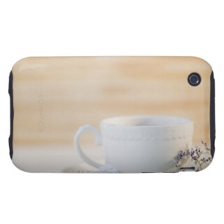 USA, New Jersey, Jersey City, cup and saucer iPhone 3 Tough Covers