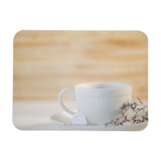 USA, New Jersey, Jersey City, cup and saucer Magnet