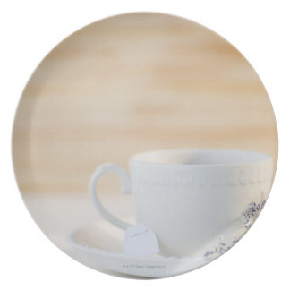 USA, New Jersey, Jersey City, cup and saucer Plate