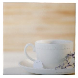 USA, New Jersey, Jersey City, cup and saucer Tile