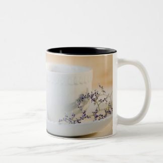 USA, New Jersey, Jersey City, cup and saucer Two-Tone Mug