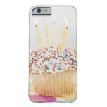 USA, New Jersey, Jersey City, Cupcake with Barely There iPhone 6 Case