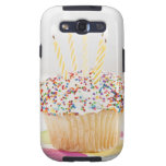 USA, New Jersey, Jersey City, Cupcake with Samsung Galaxy SIII Cases