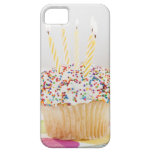USA, New Jersey, Jersey City, Cupcake with iPhone 5 Case