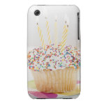 USA, New Jersey, Jersey City, Cupcake with Case-Mate iPhone 3 Cases