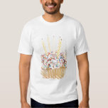 USA, New Jersey, Jersey City, Cupcake with T Shirt