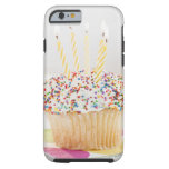 USA, New Jersey, Jersey City, Cupcake with Tough iPhone 6 Case
