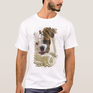 USA, New Jersey, Jersey City, Cute bulldog pup T-Shirt
