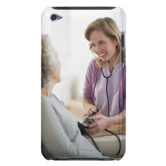 USA, New Jersey, Jersey City, Female nurse iPod Touch Cases