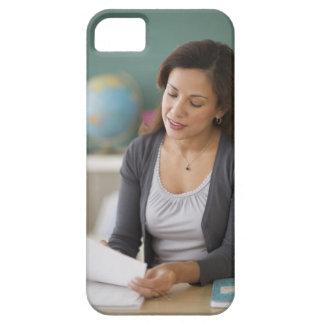 USA, New Jersey, Jersey City, female teacher iPhone 5 Cover