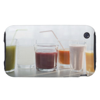 USA, New Jersey, Jersey City, fresh smoothies iPhone 3 Tough Cover