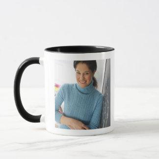 USA, New Jersey, Jersey City, Mature woman Mug