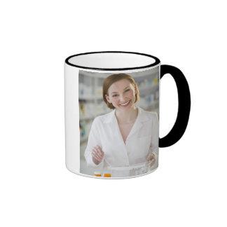USA, New Jersey, Jersey City, pharmacist 2 Ringer Mug