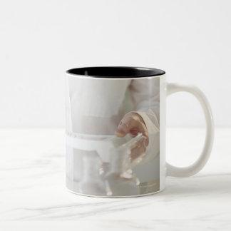 USA, New Jersey, Jersey City, pharmacist 2 Two-Tone Mug