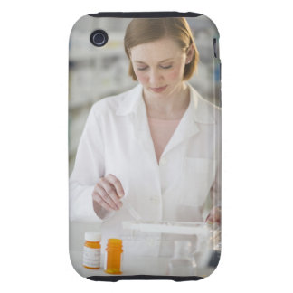 USA, New Jersey, Jersey City, pharmacist Tough iPhone 3 Cover
