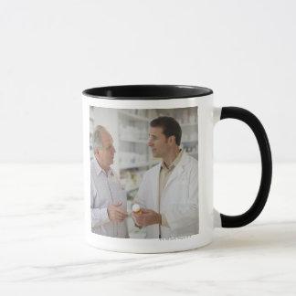 USA, New Jersey, Jersey City, Pharmacist Mug