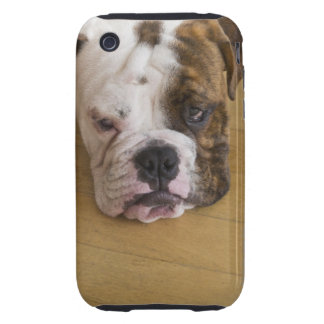 USA, New Jersey, Jersey City, Portrait of bored Tough iPhone 3 Cover