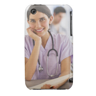 USA, New Jersey, Jersey City, Portrait of female iPhone 3 Cover
