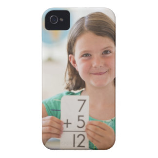 USA, New Jersey, Jersey City, Portrait of girl Case-Mate iPhone 4 Case