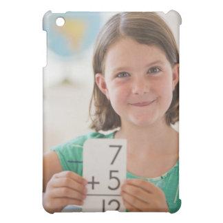 USA, New Jersey, Jersey City, Portrait of girl iPad Mini Covers