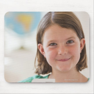 USA New Jersey Jersey City Portrait of girl Mouse Pad