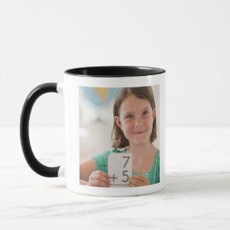 USA, New Jersey, Jersey City, Portrait of girl Mug