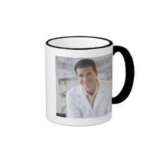 USA, New Jersey, Jersey City, Portrait of Ringer Mug