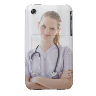 USA, New Jersey, Jersey City, Portrait of young iPhone 3 Case