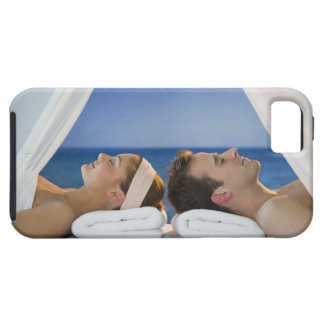 USA, New Jersey, Jersey City, Portrait of young Tough iPhone 5 Case