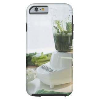 USA, New Jersey, Jersey City, preparation of Tough iPhone 6 Case