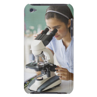 USA, New Jersey, Jersey City, Schoolgirl (12-13) iPod Case-Mate Case