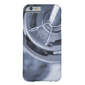USA, New Jersey, Jersey City, Ten kilos weights Barely There iPhone 6 Case