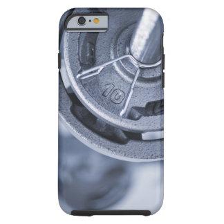 USA, New Jersey, Jersey City, Ten kilos weights Tough iPhone 6 Case