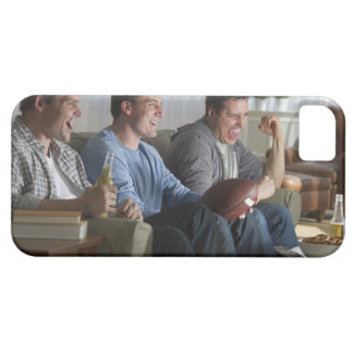 USA, New Jersey, Jersey City, three men watching 2 Barely There iPhone 5 Case