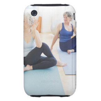 USA, New Jersey, Jersey City, Two senior women Tough iPhone 3 Cover