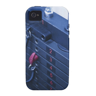 USA, New Jersey, Jersey City, Weights on Vibe iPhone 4 Cases