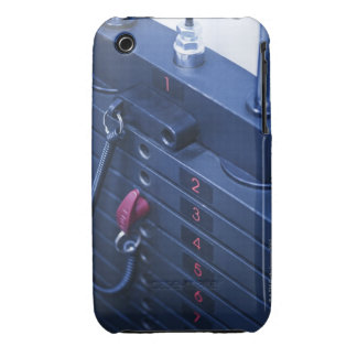 USA, New Jersey, Jersey City, Weights on iPhone 3 Case-Mate Case