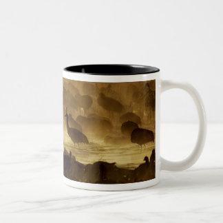 USA, New Mexico, Bosque del Apache National 2 Two-Tone Coffee Mug