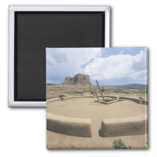 USA, New Mexico, Pecos National Historical Park, Square Magnet