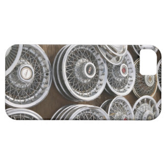 USA, New Mexico, Prewitt: Auto Hubcaps / Rt. 66 Barely There iPhone 5 Case